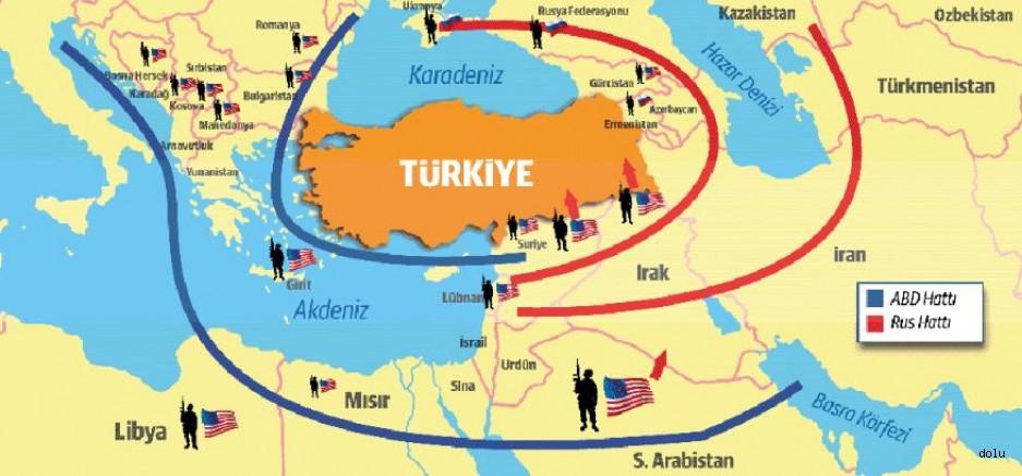 ABD, Adım Adım Türkiye'yi  kuşatıyor: Tehlikeli Sevkiyat!