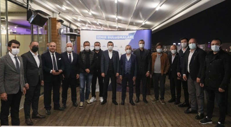 """AK Parti İzmir İl Başkanı Kerem Ali Sürekli;  """"İzmir, spor alanında markadır. Küme düşürmeyiz!"""""""