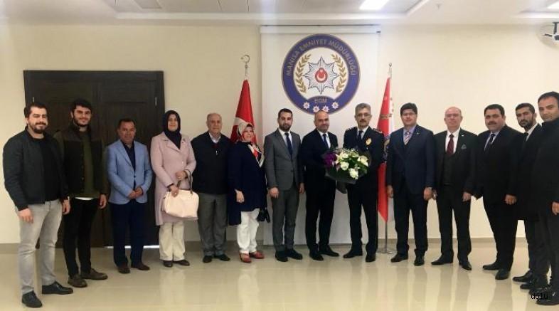 AK Parti yönetiminden Müdür Bilgiç'e ziyaret