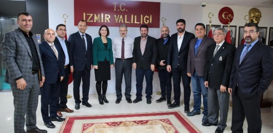 Anadolu Kardeşlik Derneği Yola Çıktı  Yeni Yönetimden İlk Ziyaret Valiye