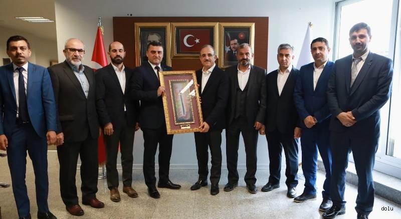 ASKON'dan AK Parti İzmir İl Başkanı Kerem Ali Sürekli'ye Hayırlı Olsun Ziyareti