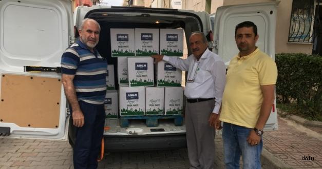 ASKON İzmir'den 450 Aileye Erzak Yardımı