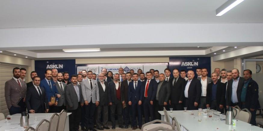 ASKON İzmir'den Tanışma Ve İşbirliği Toplantısı