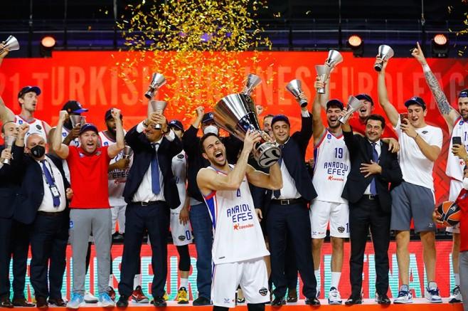 Avrupa'nın Şampiyonu Anadolu Efes!