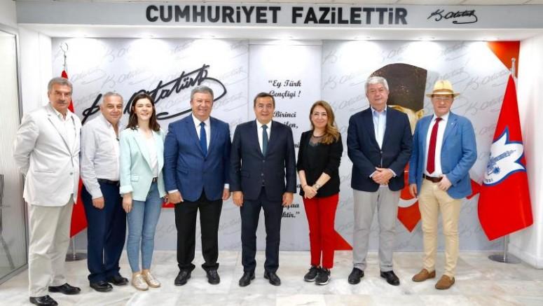 Başkan Batur SODEY'e Katıldı