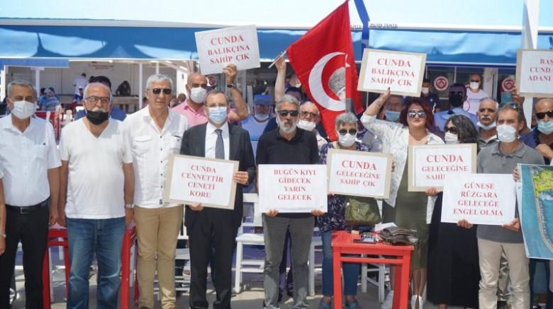 Başkan Ergin: Ayvalık'ın Tek Balıkçı Barınağının Kapasitesi Yüzde Elli Azalacak