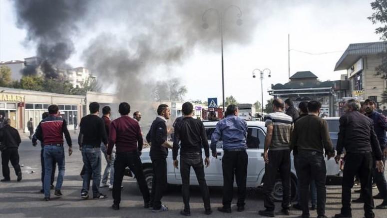 Cepheden Kaçıyorlar Sivil Katliam Yapıyorlar, Ermenistan Gence, Terter'den Sonra Şimdi de Berde'yi Vurdu