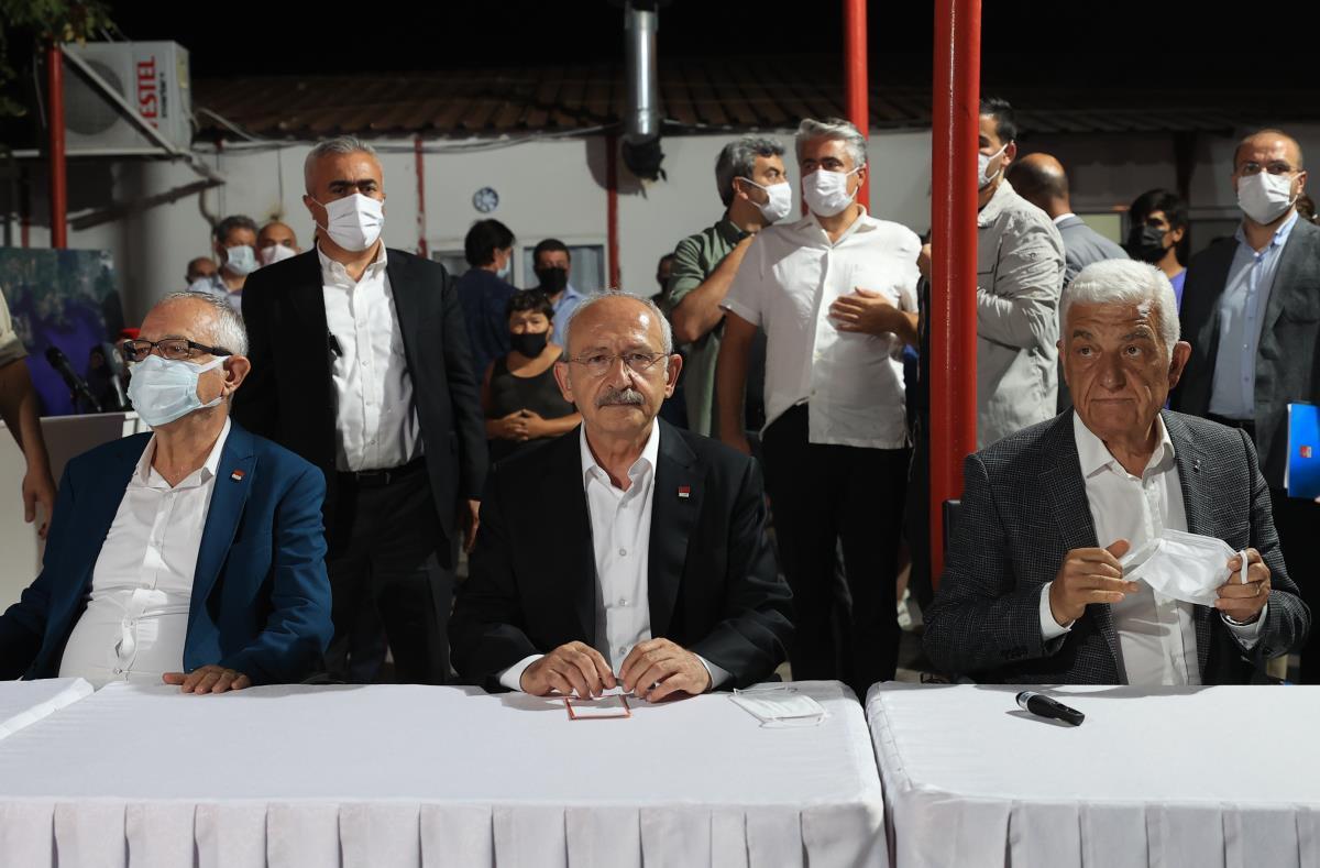 Kılıçdaroğlu, Marmaris Koordinasyon Merkezi'nde konuştu