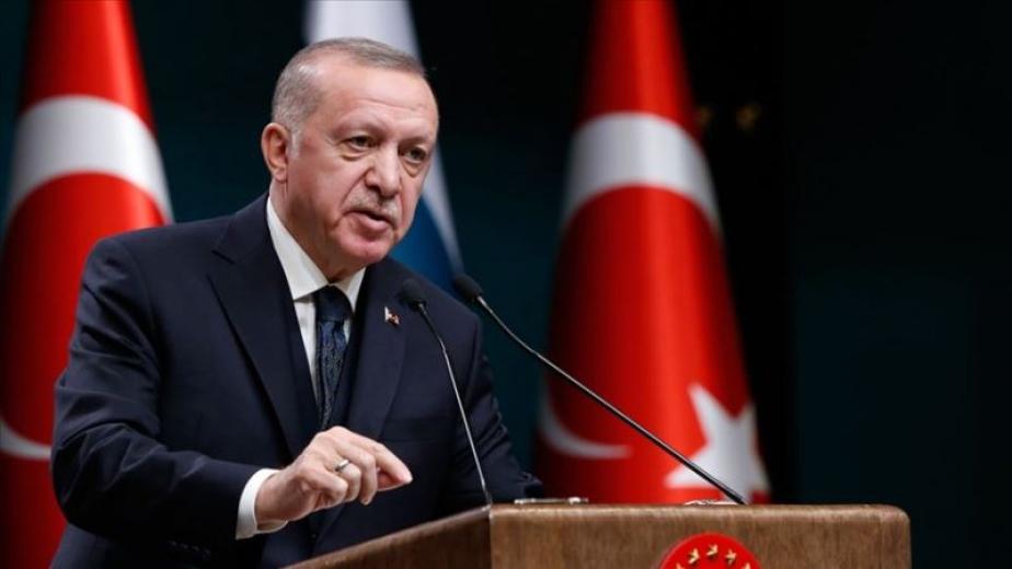 Cumhurbaşkanı Erdoğan'dan darbe imalı bildiriyle ilgili ilk açıklama
