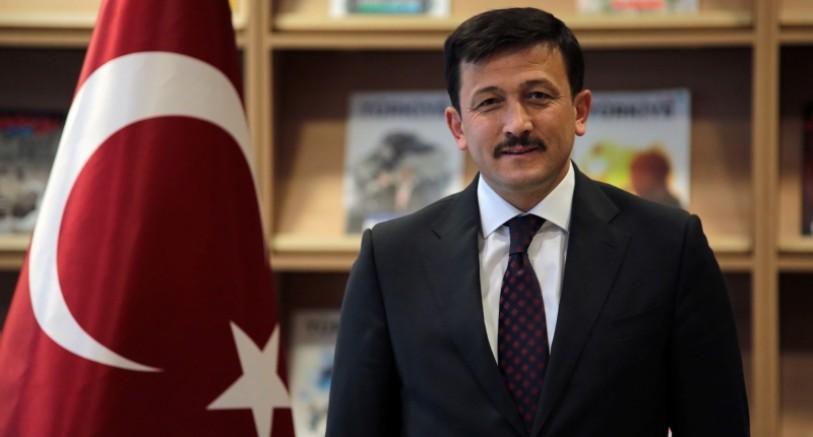 AK Parti Genel Başkan Yardımcısı Hamza Dağ: CHP Yangınların Müsebbibi Terör Örgütü PKK'yı Kınayamadı