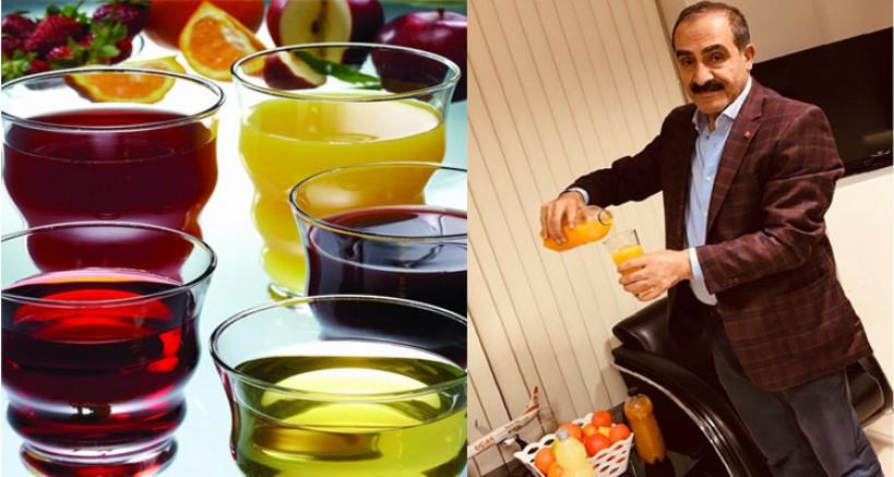 Dünya'nın meyve suyu Türkiye'den gidiyor