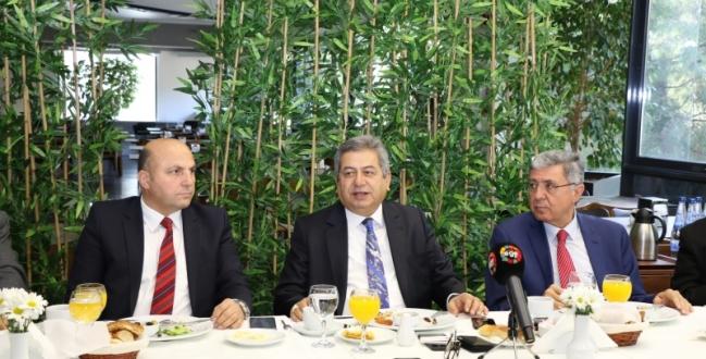 İzmir Medya Platformu İle Buluşan Güler, ESBAŞ 30.Yılında 20 Bin 500 Kişiye İstihdam Sağlarken Yüzde 5 Büyüdü
