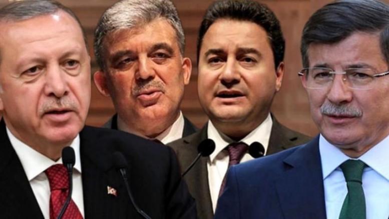 Erdoğan'dan Gül, Babacan ve Davutoğlu'na: