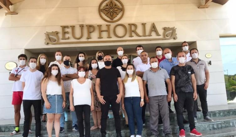 EUPHORIA AEGEAN RESORT&THERMAL Güvenli Turizm Sertifikasını Aldı