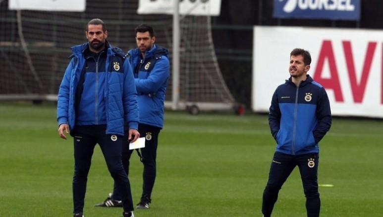 Fenerbahçe, Emre Belözoğlu ve Volkan Demirel ile çalıştı