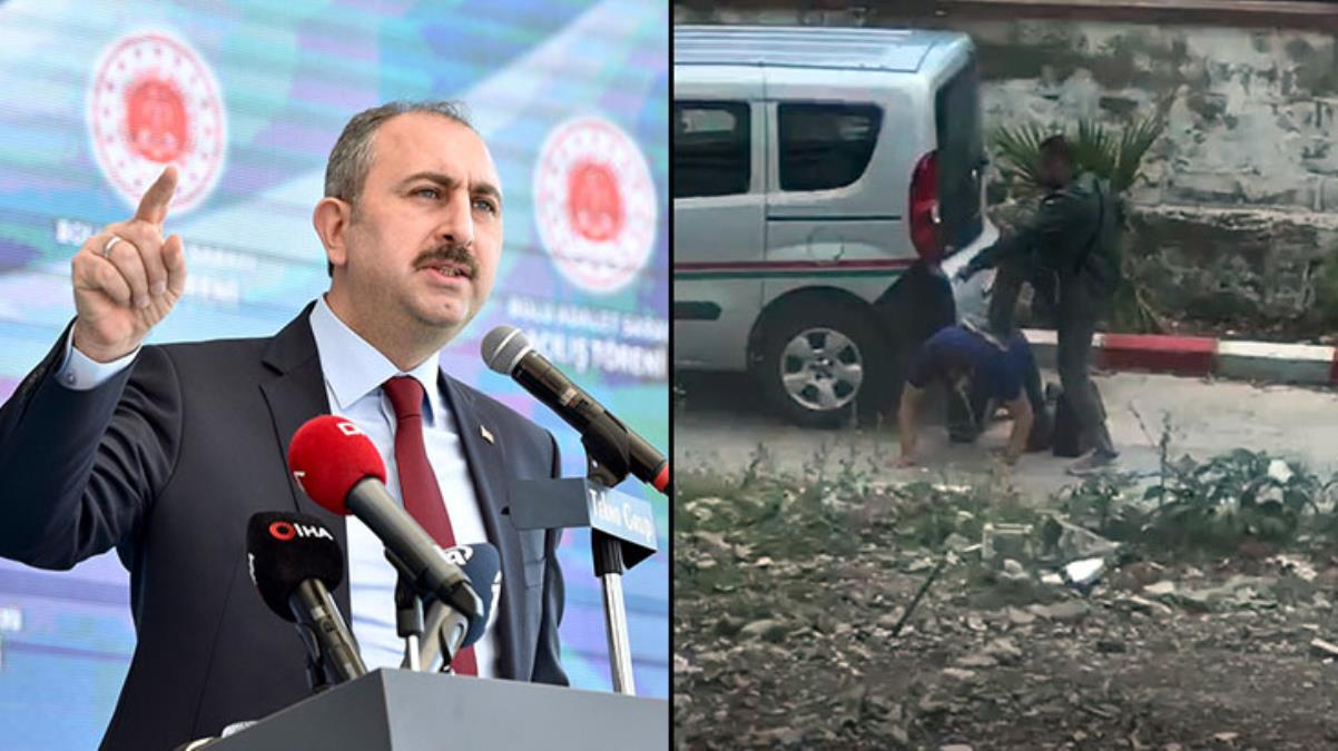 Avukata Silah Dayamıştı: İzmir'deki O Görüntüye Bakan'dan Tepki