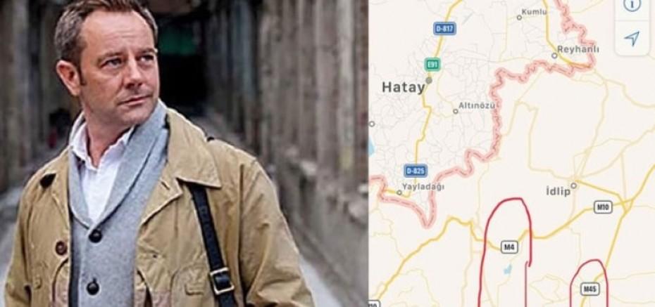 İngiliz Ajandan Çıkan Dikkat Çeken Harita! Türkiye Sınırında Kritik Alanlar İşaretlenmiş