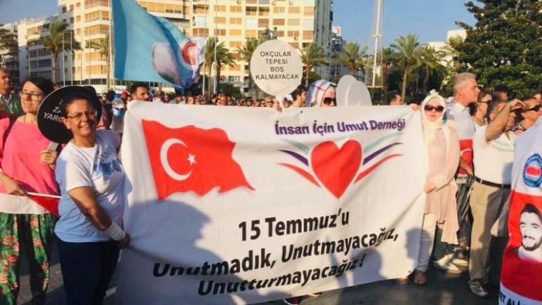 """İnsan İçin umut Derneği Başkanı Gökçe'den """"15 Temmuz Demokrasi ve Milli Birlik Günü"""" Mesajı"""