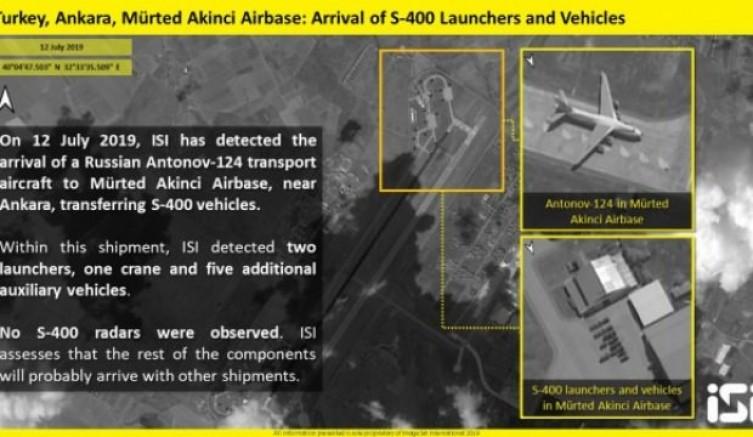 İsrail, Türkiye'ye ait S-400'lerin görüntülerini ve konumu yayınladı
