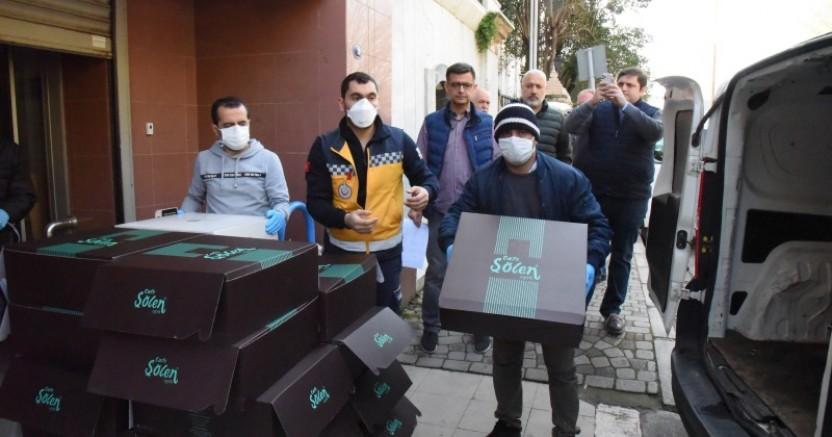 İZTO'dan sağlık çalışanlarına  'Tatlı Bir Mola'