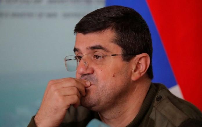 Karabağ'daki Ermeni lider Arutyunyan'dan Putin'e teşekkür