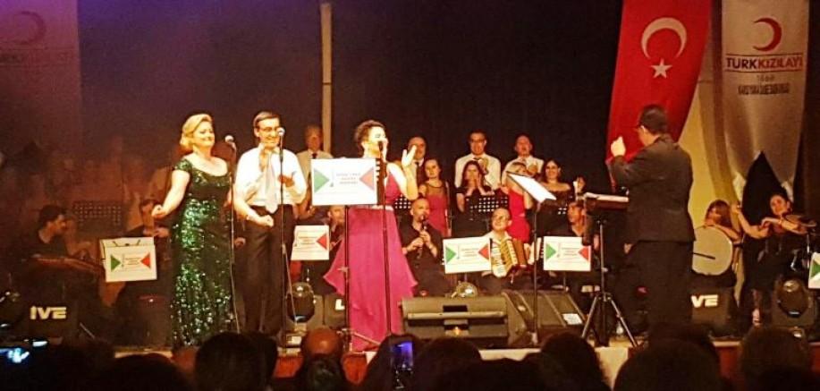 Karşıyaka Sanat Derneği'nden muhteşem Konser