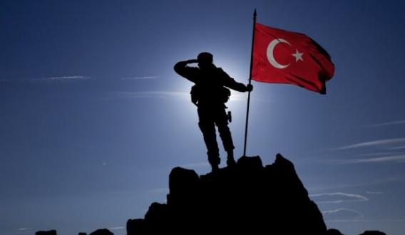 Kritik bölge düştü: Mehmetçik, PKK'nın inine bayrağımızı dikti
