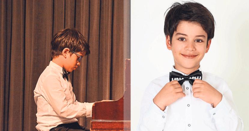 Küçük piyanist Yekta'ya büyük alkış