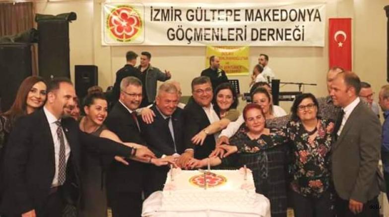 Makedonya Göçmenleri Kuşadası'nda Buluştu