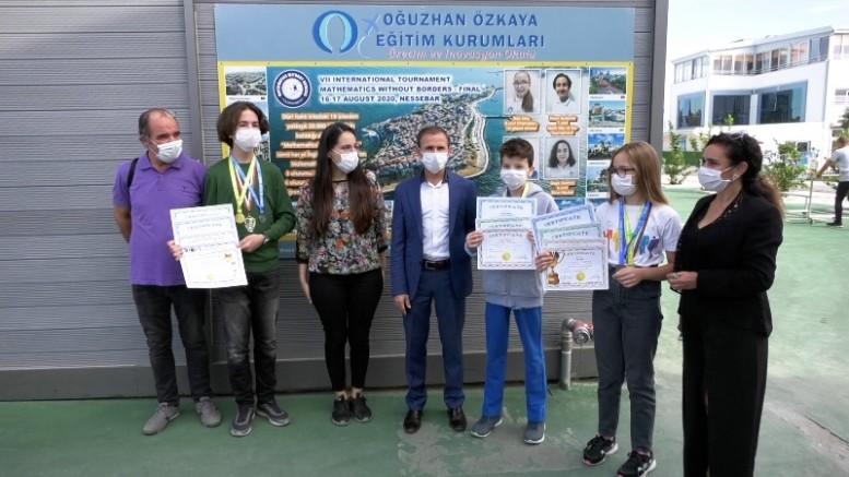 Matematik'te Dünya Şampiyonları İzmir'den