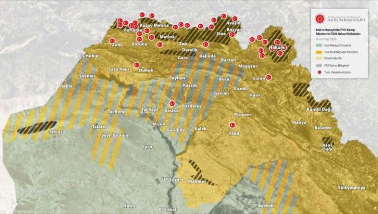 Mehmetçik Irak'ın Kuzeyine Kaplan Pençesini Sağlam Geçirdi