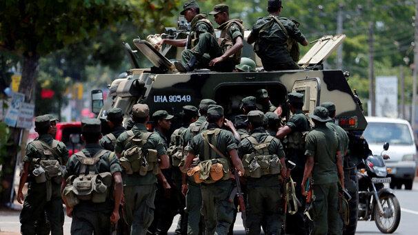 Müslümanlara saldırılar düzenlenen Sri Lanka'da süresiz sokağa çıkma yasağı