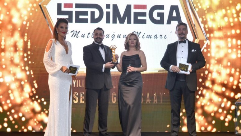 Sedimega'ya 1 Yılda İki Ödül