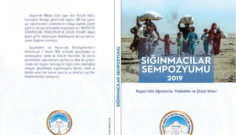 """""""Sığınmacılar Sempozyumu"""" Kitaplaştı"""