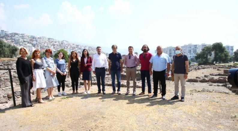 SMYRNA'nın UNESCO Adaylık Süreci Bayraklı' da Konuşuldu