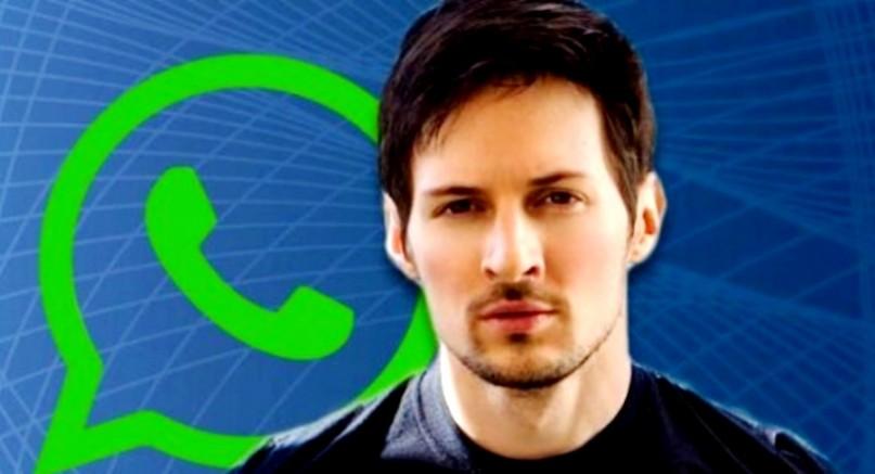 Telegram'ın Kurucusu Durov: WhatsApp Çok Tehlikeli