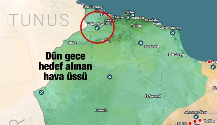 Vatiyye Saldırısı Sonrası İletişim Başkanlığı'ndan Dikkat Çeken Libya Haritası Paylaşımı